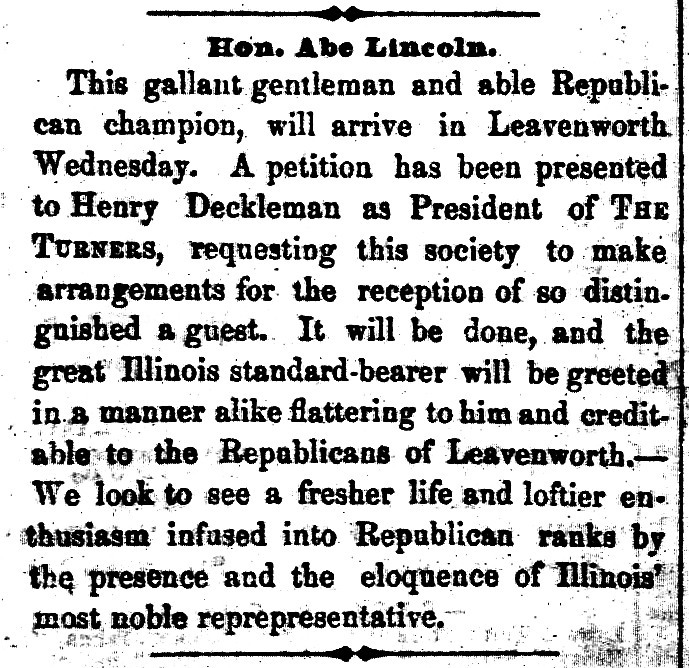 December 3, 1859   a lincoln guide k  t  1859